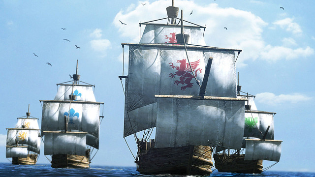 Images d'Uncharted Waters Online