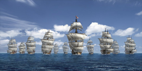 Uncharted Waters Online - Uncharted Waters prend la mer en version européenne chez gPotato