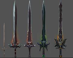 Equipement - Epées à deux mains