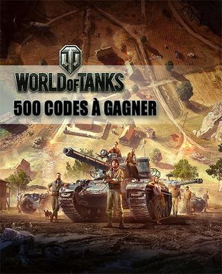 À gagner : 500 codes bonus pour bien débuter dans World of Tanks
