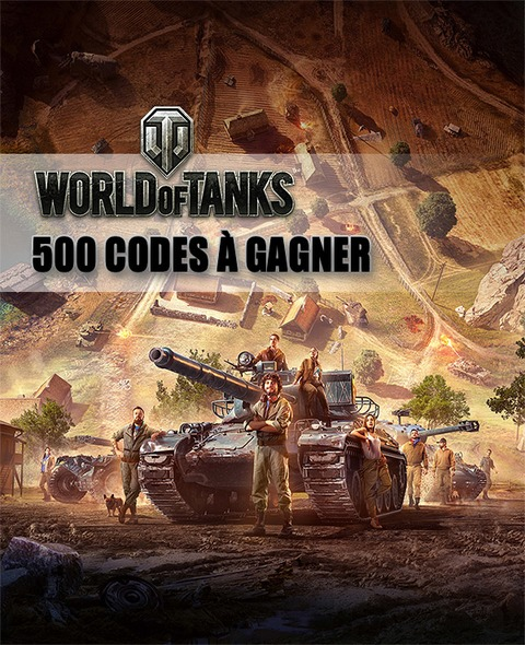 World of Tanks - Distribution : 500 codes bonus pour bien débuter dans World of Tanks