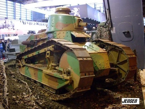 World of Tanks - Un peu d'histoire: Le renaut FT