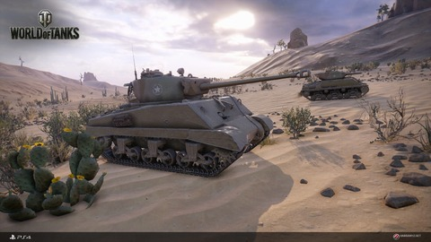 World of Tanks - World of Tanks désormais disponible sur Playstation 4