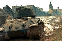 Un T-34, héros du film.