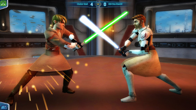 Mini jeu : duel au sabre laser