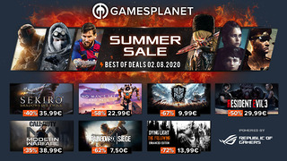Summer Sales Gamesplanet - 2 août 2020