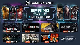 Spring Sale Gamesplanet (23 avril)