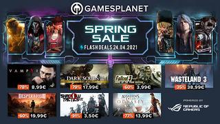 Spring Sale Gamesplanet (24 avril)