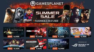 Summer Sales Gamesplanet - 29 juillet 2020