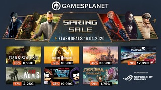 Soldes de printemps Gamesplanet : 16 avril 2020