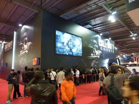 SELL - La Paris Games Week 2013 ouvre ses portes