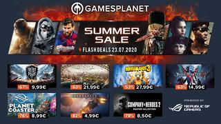 Summer Sales Gamesplanet - 23 juillet 2020