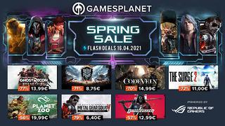 Spring Sale Gamesplanet (16 avril)