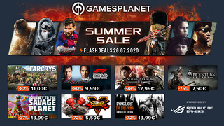 Summer Sales Gamesplanet - 26 juillet 2020
