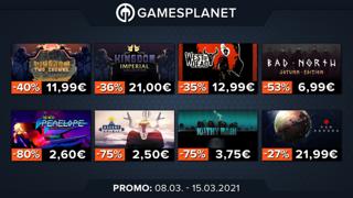 Promo Gamesplanet : 32 jeux indépendants en promotions