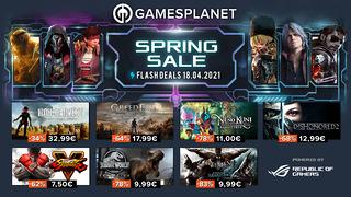 Spring Sale Gamesplanet (18 avril)