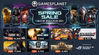 Spring Sale Gamesplanet, best of (25 avril)