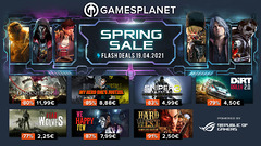 Spring Sale Gamesplanet, jour #4 : 300 jeux en promotion dont X4: Foundations (-44%), Conan Exiles (-63%), Darksider III (-80%)