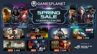 Spring Sale Gamesplanet (19 avril)