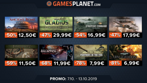 Soldes GamesPlanet : Deliver Us The Moon (-15%), Trine 4 (-10%), GRID (-15%), les jeux Slitherine