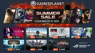 Summer Sales Gamesplanet - 27 juillet 2020