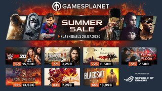 Summer Sales Gamesplanet - 28 juillet 2020