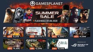 Summer Sales Gamesplanet - 1er août 2020