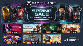 Spring Sale Gamesplanet (22 avril)