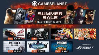 Summer Sales Gamesplanet - 31 juillet 2020