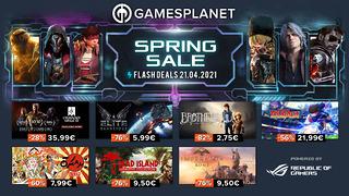 Spring Sale Gamesplanet (21 avril)