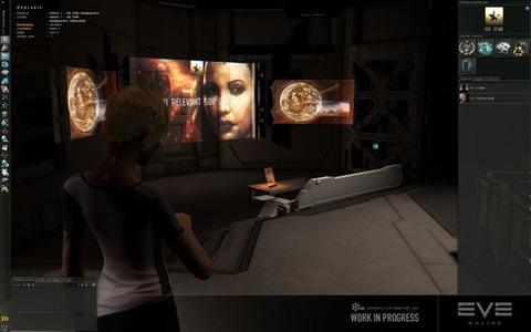 Capture d'écran, station de joueur  - EVE Online - Walking in station