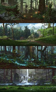 Jaggedpine Forest (EverQuest Next), Benoit Bernard