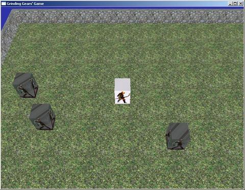 Première capture d'écran de Path of Exile (2007)