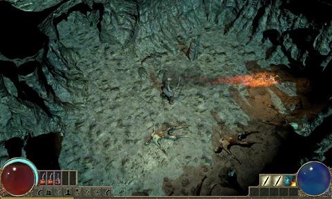 Premier effet de particule in-game dans Path of Exile