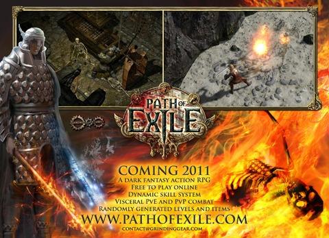 Première image promotionnelle de Path of Exile (PAX 2010)