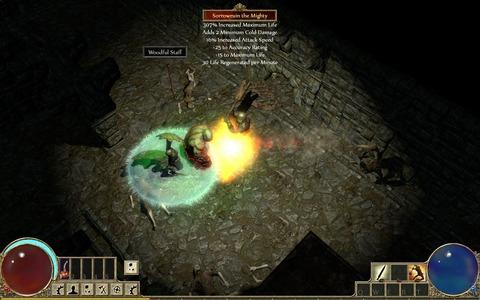 Première image de Path of Exile envoyée à la presse (2010)