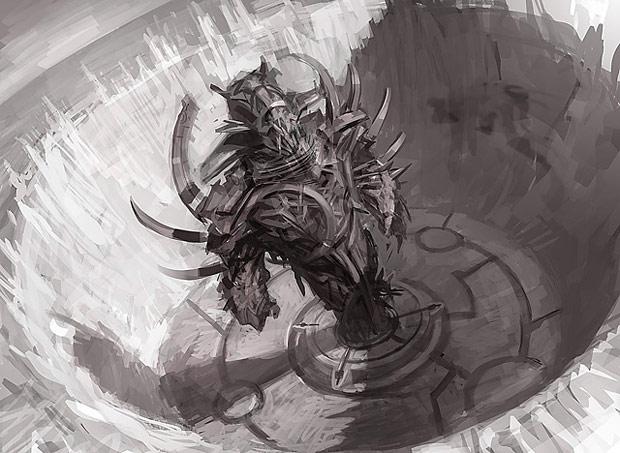 Croquis de la Titan Forge