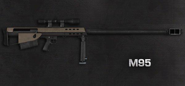Mise à Jour de l'Armurerie - M95