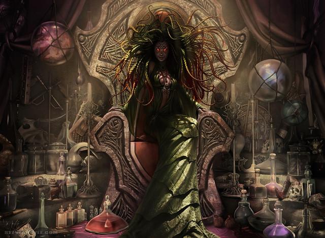 Fond d'écran Damia, Sage of Stone