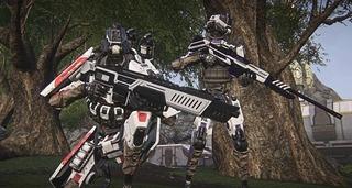 Unité d'infanterie robotique