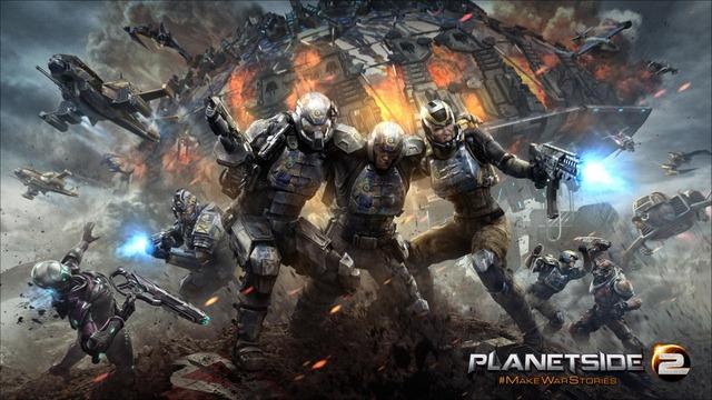 PlanetSide 2 sur PlayStation 4