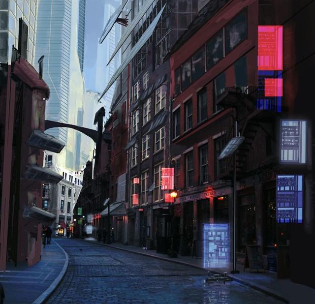 Rue industrielle