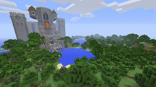 Minecraft sur Playstation 3