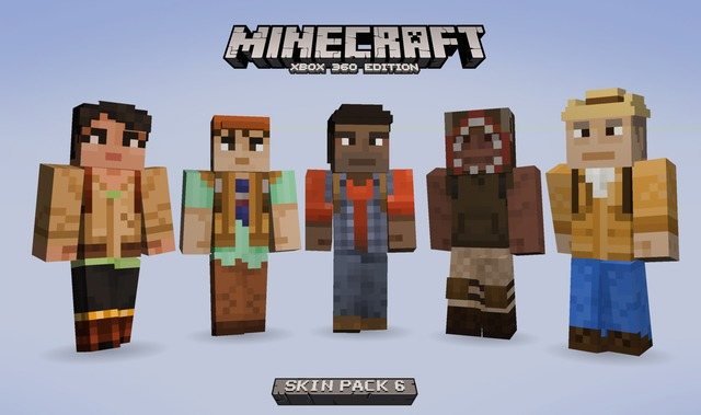 Skins State of Decay pour Minecraft Xbox 360