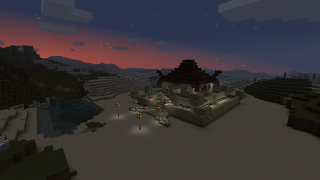 Temple de montagne