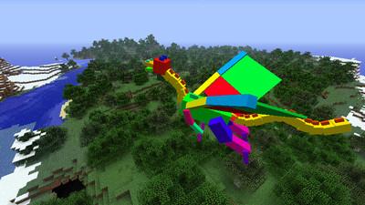 """dragon """"modèle couleurs"""""""