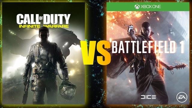 Battlefield 1 VS COD