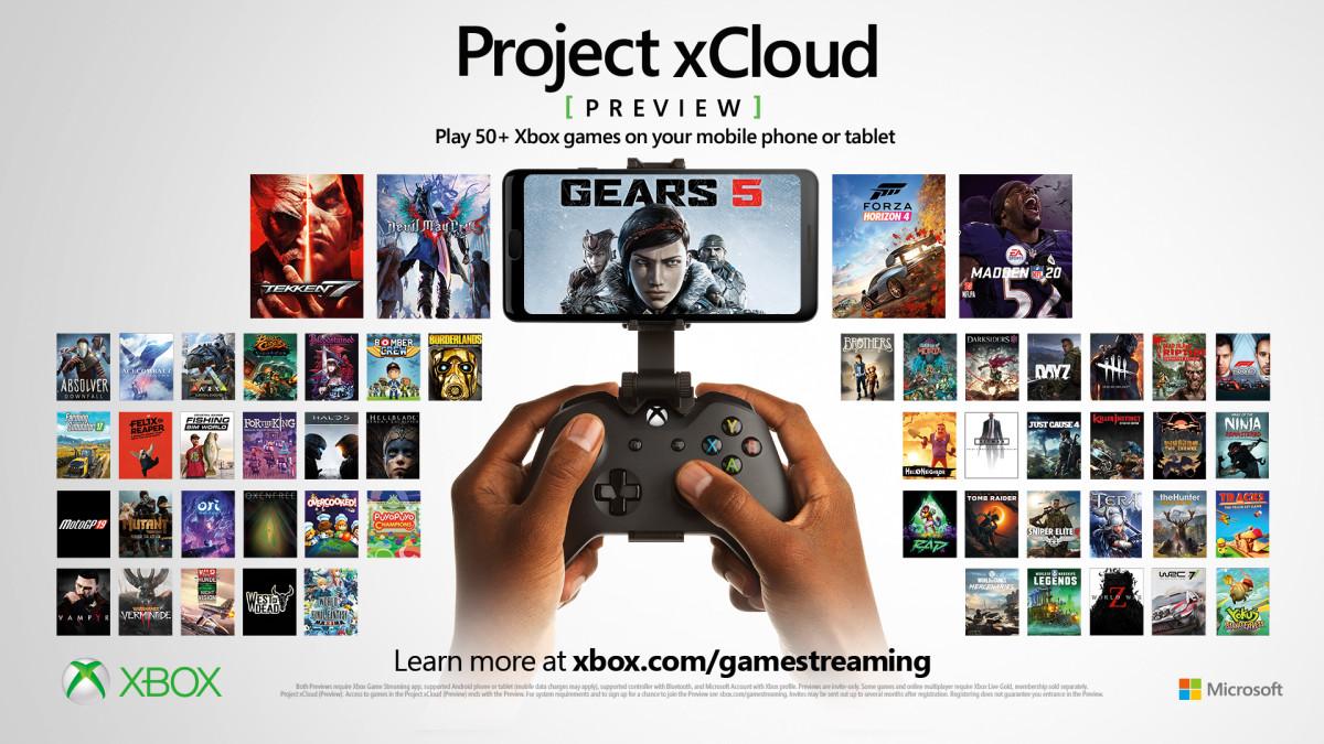 Project xCloud obtiendra de nouvelles fonctionnalités en 2020