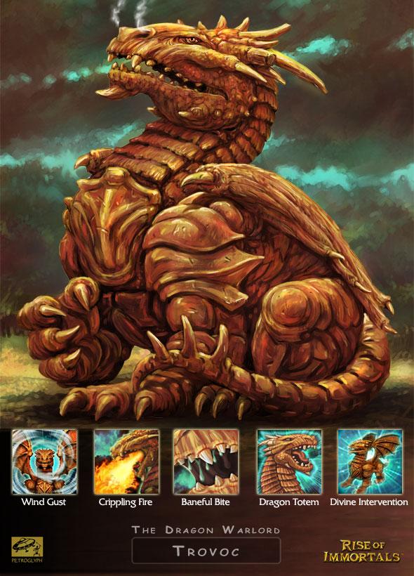 Trovoc, le Warlord Dragon