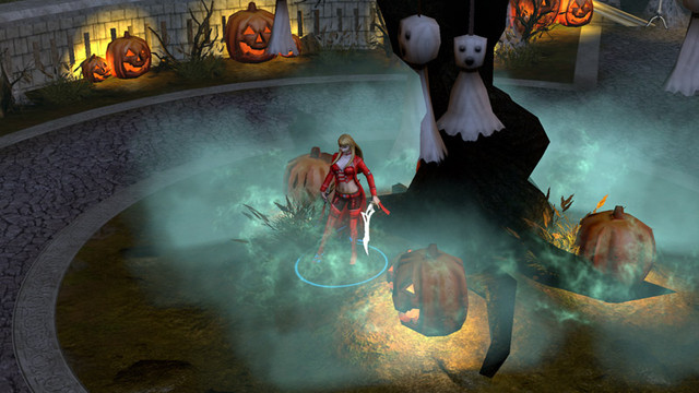 Halloween dans Rise of Immortals